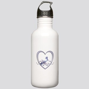 Pigeon in Heart Stainless Water Bottle 1.0L