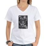 Yog Sothoth Women's V-Neck T-Shirt