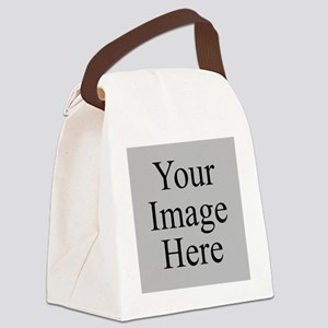 Your Image Here Canvas Lunch Bag