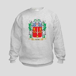 Dunn- Coat of Arms (Family Crest) Kids Sweatshirt