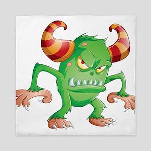 Halloween Monster 3 Queen Duvet