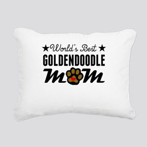 World's Best Goldendoodle Mom Rectangular Canvas P