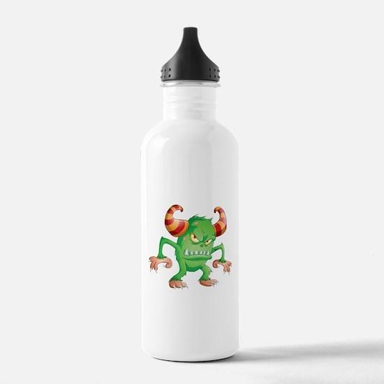 Halloween Monster 3 Water Bottle