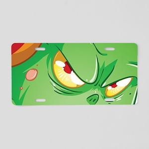 Halloween Monster 3 Aluminum License Plate