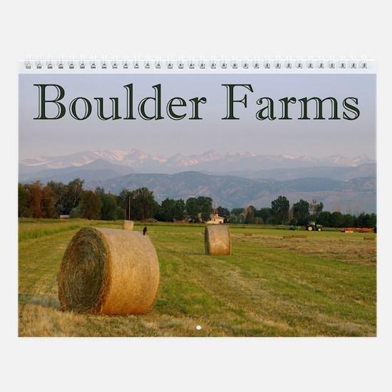 Boulder Farms Wall Calendar
