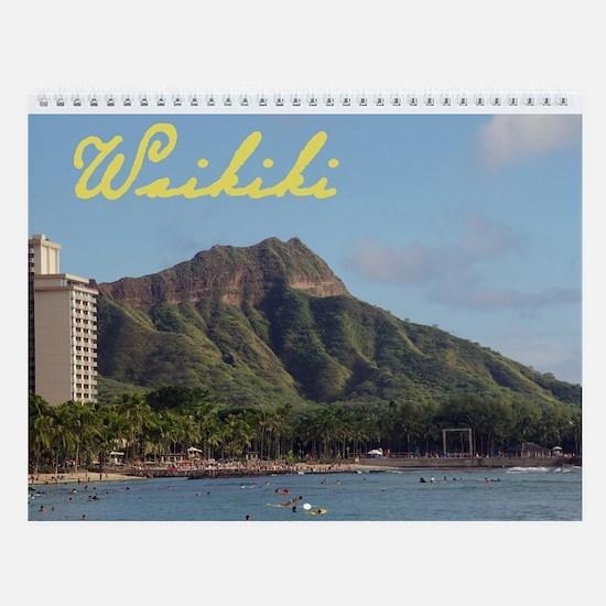 Waikiki Wall Calendar