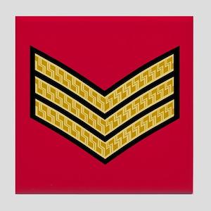 British Sergeant<BR> Tile Coaster