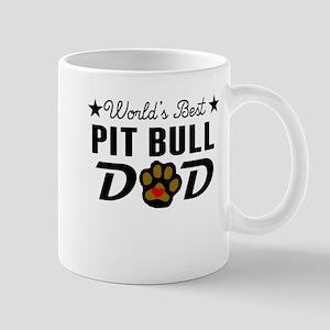 World's Best Pit Bull Dad Mugs
