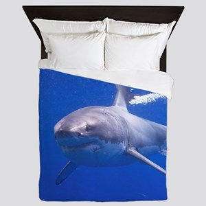 GREAT WHITE SHARK 4 Queen Duvet