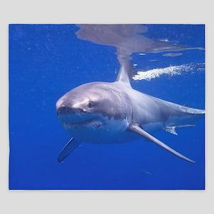 GREAT WHITE SHARK 4 King Duvet