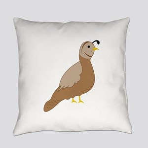 Quail Everyday Pillow
