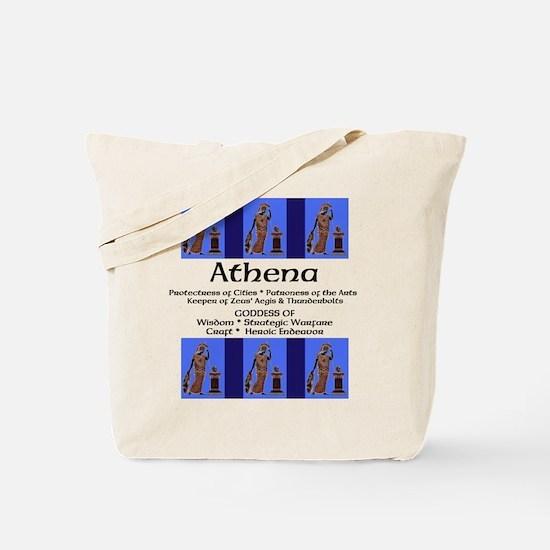 Athenas Owl Tote Bag