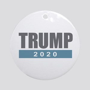 Trump 2020 Round Ornament