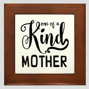 One of a kind Mother Framed Tile