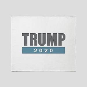 Trump 2020 Throw Blanket