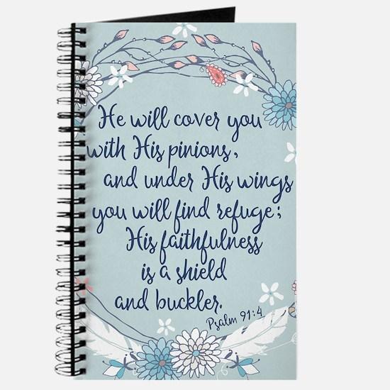 Under His Wings Journal
