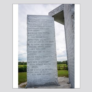 Georgia Guidestones English Posters