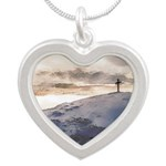Christian Cross On Mountain Necklaces