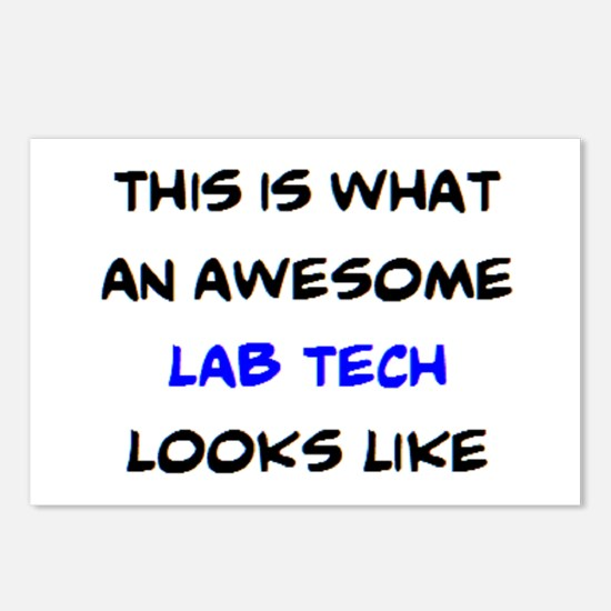 awesome lab tech Postcards (Package of 8)