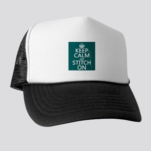 Keep Calm and Stitch On Hat