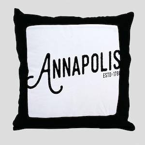Annapolis Maryland Throw Pillow