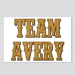 TEAM AVERY Postcards (Package of 8)
