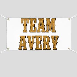 TEAM AVERY Banner