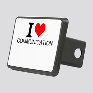 I Love Communications Hitch Cover
