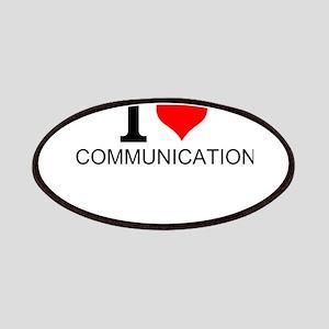 I Love Communications Patch