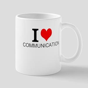 I Love Communications Mugs