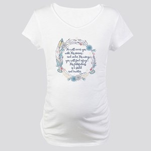 Under His Wings Maternity T-Shirt
