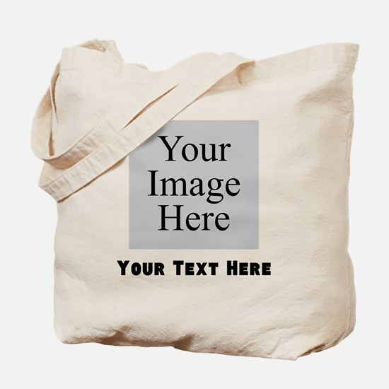Your Image And Text Tote Bag