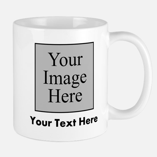 Custom Image And Text Mugs
