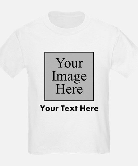 Custom Image And Text T-Shirt
