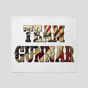 TEAM GUNNAR Throw Blanket