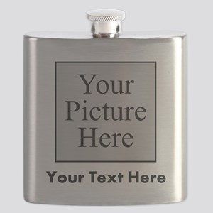 Custom Picture And Text Flask