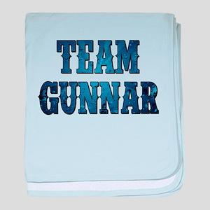 TEAM GUNNAR baby blanket