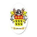 Martiny Oval Car Magnet