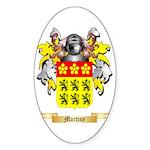Martiny Sticker (Oval 10 pk)