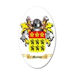 Martiny 35x21 Oval Wall Decal