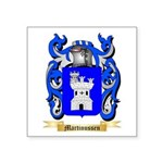 Martinussen Square Sticker 3
