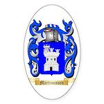 Martinussen Sticker (Oval)