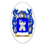 Martinovsky Sticker (Oval 50 pk)