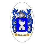 Martinovic Sticker (Oval 10 pk)