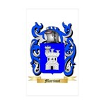 Martinot Sticker (Rectangle 50 pk)