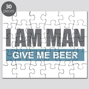 I Am Man - Give Me Beer Puzzle