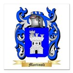 Martinoli Square Car Magnet 3