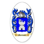 Martinoli Sticker (Oval 50 pk)