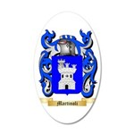 Martinoli 35x21 Oval Wall Decal