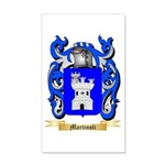 Martinoli 20x12 Wall Decal